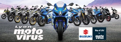 Essai moto - Suzuki Moto Virus Lyon -