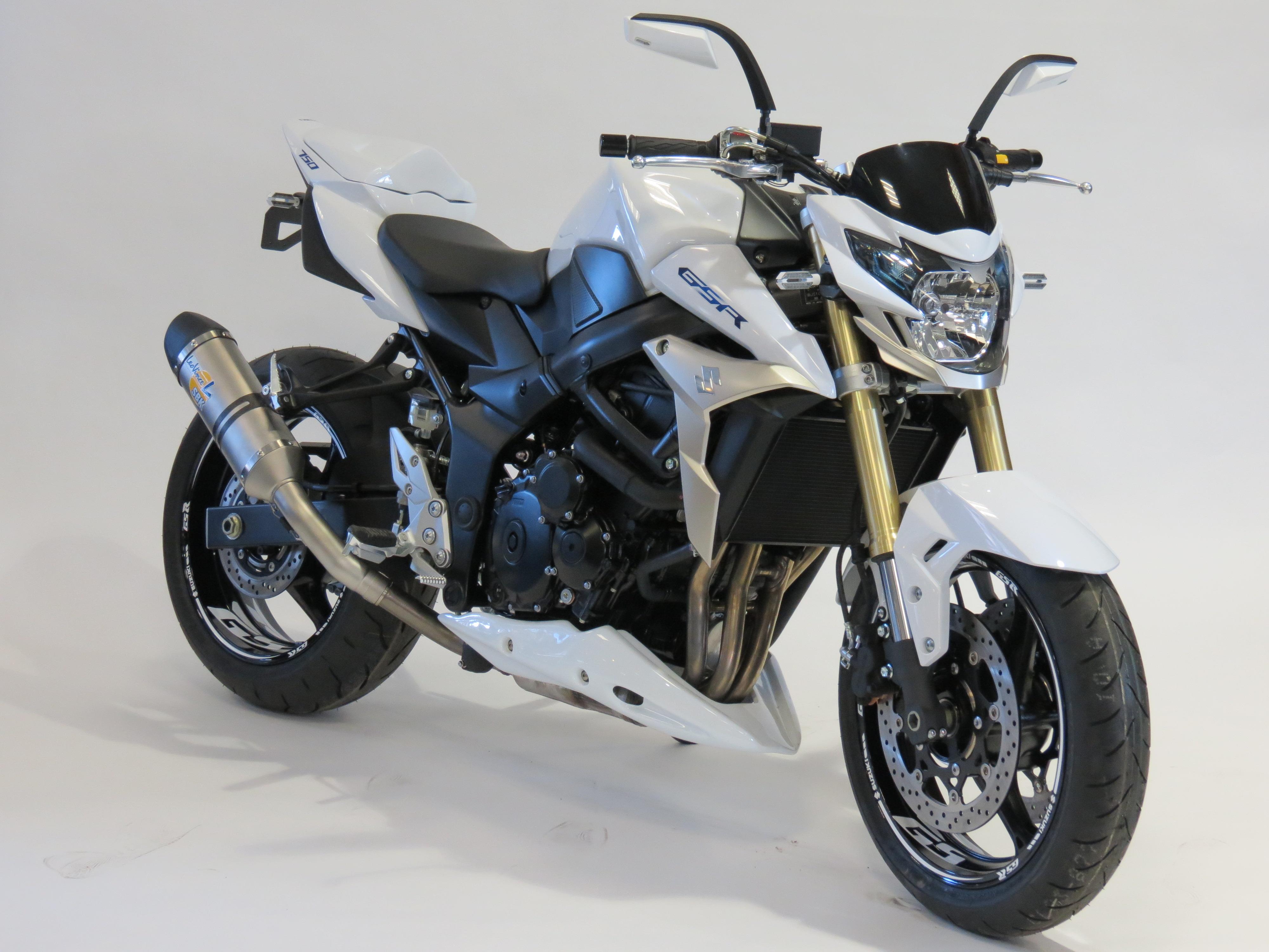 GSR 750 WHITE