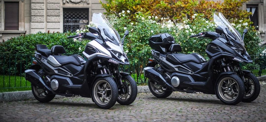 CV3 kymco essai scooter 3 roues