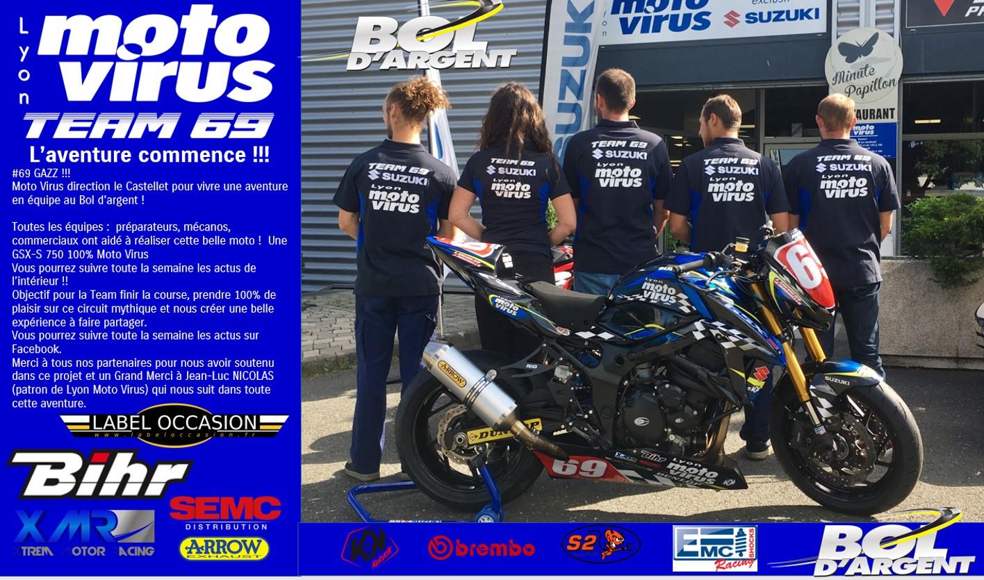 Bol D'argent Bol DOr 2017 - moto suzuki 69 lyon