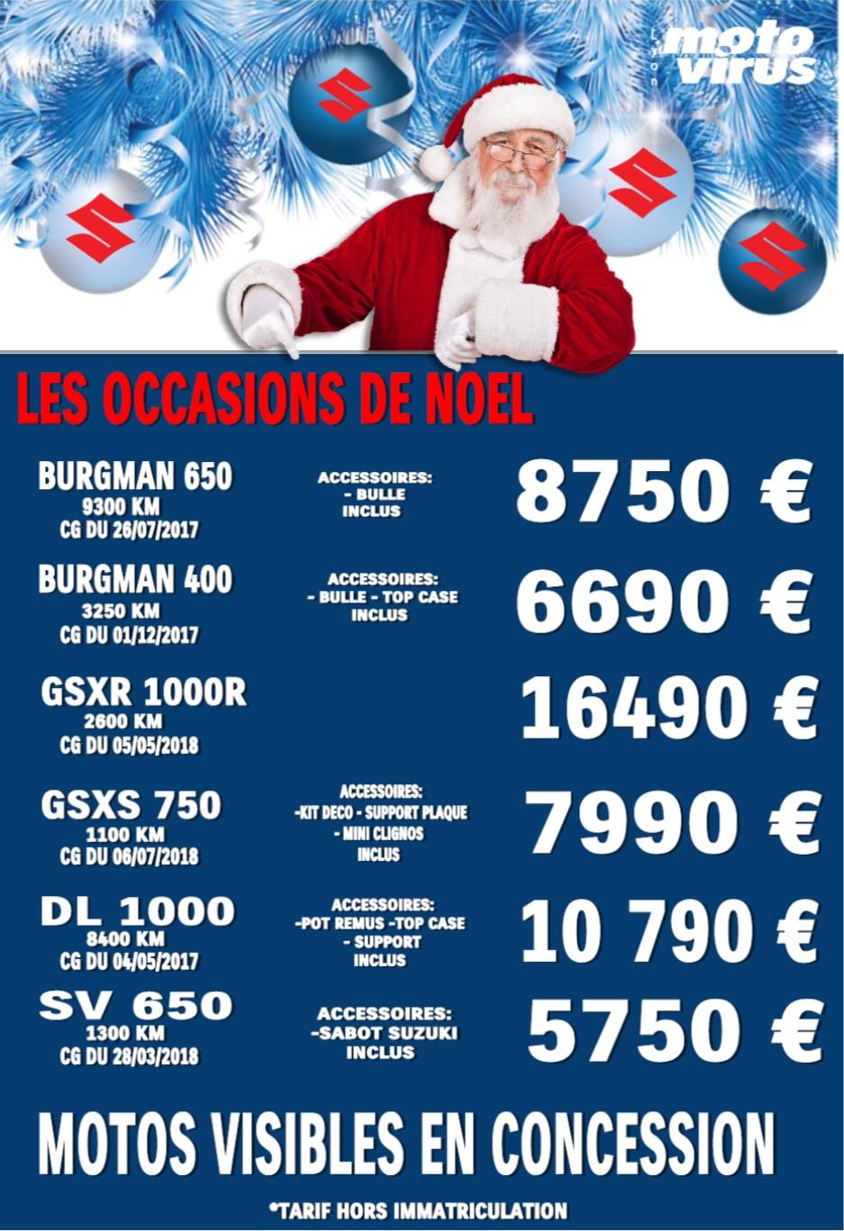 Motos occasions Lyon Offre de Noël
