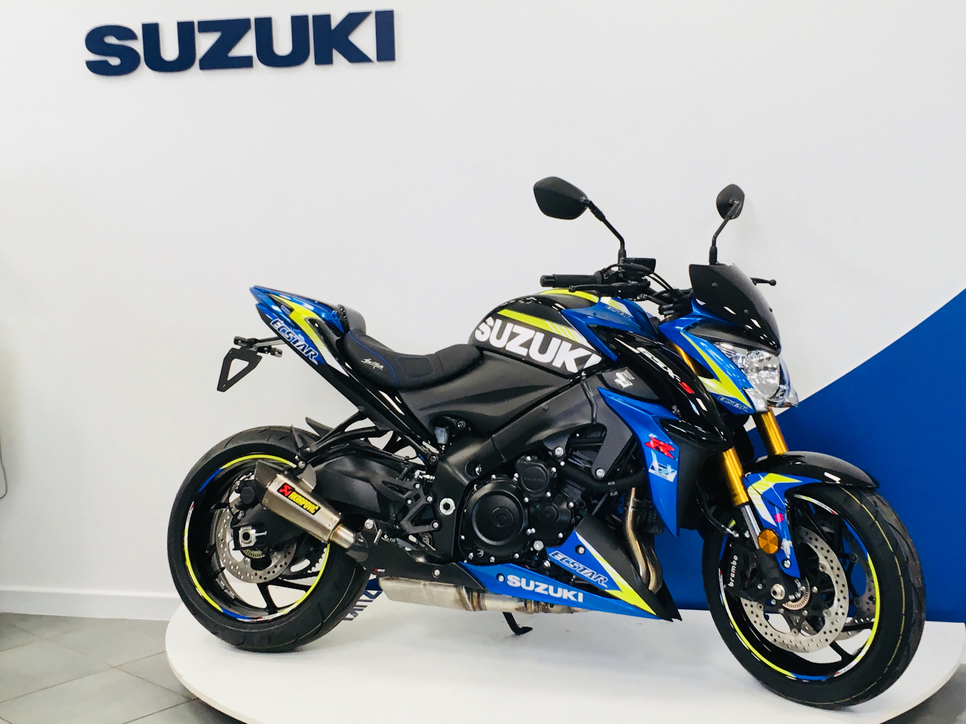 GSXS 1000 KIT DECO ACCESSOIRES PREPARATION MOTO VIRUS