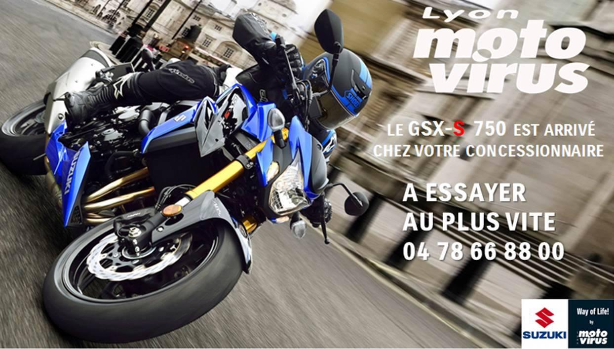 GSXS 750 2017 ESSAI MOTO