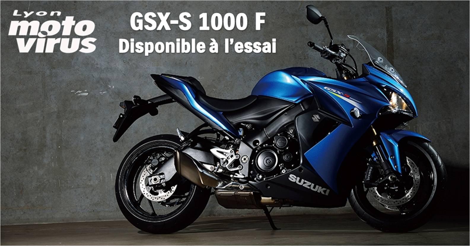 essai moto suzuki lyon gsxs 1000 F