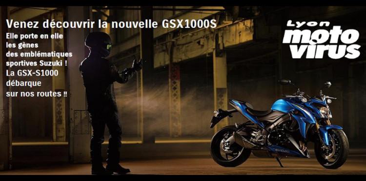 La GSX1000S est arrivée en concession